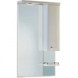 Шкафчик зеркальный 1 дверца распашная Aqwella Barselona Ba.02.55