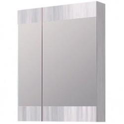 Шкафчик зеркальный 2 дверцы распашные Aqwella Brig Br.04.06.Gray