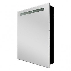 Шкафчик зеркальный 1 дверца распашная Roca Victoria Nord Black Edition ZRU9000098