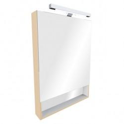 Шкафчик зеркальный 1 дверца распашная Roca The Gap ZRU9302698