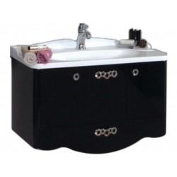 Тумба для раковины с ящиками выдвижными Акватон Венеция 1.A155.6.01V.N95.0 (1A155601VN950)