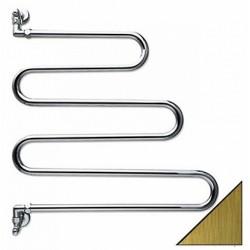 Полотенцесушитель водяной подключение вертикальное Margaroli Vento 405OB (бронза)