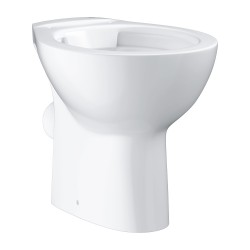 Унитаз напольный приставной безободковый Grohe Bau Ceramic 39430000
