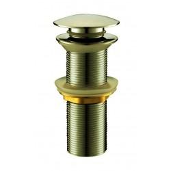 Сифон для раковины донный клапан Adiante AD-312BR