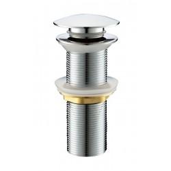 Сифон для раковины донный клапан Adiante AD-312CR