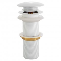 Сифон для раковины донный клапан Adiante AD-312WHCR