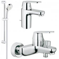 Комплект для ванной со смесителем Grohe Eurosmart Cosmopolitan 116938 (32831000,32825000,27786002)