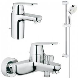 Комплект для ванной со смесителем Grohe Eurosmart Cosmopolitan 121655 (32831000,32825000,27786002)