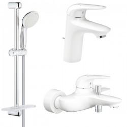 Комплект для ванной со смесителем Grohe Eurostyle New 124416-2-LS3 (23726LS3,23707LS3,27926001)