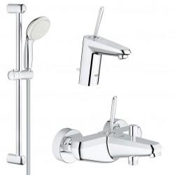 Комплект для ванной со смесителем Grohe Eurodisc Joy 23431-23425 (23431000,23425000,27598001)