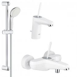 Комплект для ванной со смесителем Grohe Eurodisc Joy 23431-23425-LS0 (23431LS0,23425LS0,27598001)