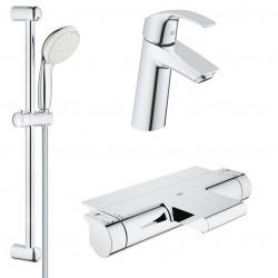 Комплект для ванной с термостатом Grohe Grohtherm 2000 New 34464-23324 (34464001,23324001,27598001)