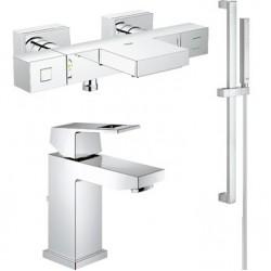 Комплект для ванной с термостатом Grohe Grohtherm Cube 34497-23127 (34497000,23127000,27936000)