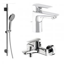 Комплект для ванной со смесителем Villeroy&boch Subway 2.0 TVT10200300061-1021011