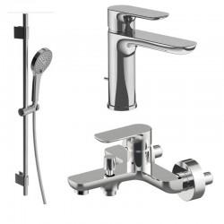 Комплект для ванной со смесителем Villeroy&boch O.novo TVT10400100061-10410111