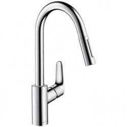 Смеситель для кухни с выдвижным изливом Hansgrohe Focus 31815000