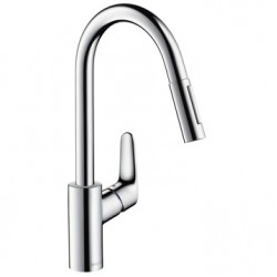 Смеситель для кухни с выдвижным изливом Hansgrohe Focus 31815800