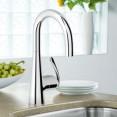 Смеситель для кухни с выдвижным изливом Grohe Zedra 32296000