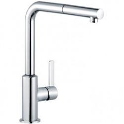 Смеситель для кухни с выдвижным изливом Kludi L-ine S 408510575