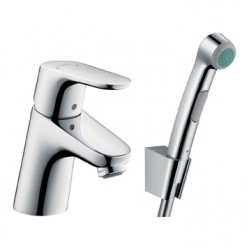 Смеситель для раковины с душем с минибиде лейкой Hansgrohe Focus E2 31926000