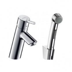 Смеситель для раковины с душем с минибиде лейкой Hansgrohe Talis S2 32140000