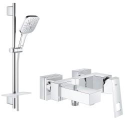 Смеситель для ванны с душевым гарнитуром Grohe Eurocube SmartActive 130 2314026583