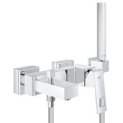 Смеситель для ванны с душевым гарнитуром Grohe Eurocube 23141000