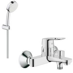 Смеситель для ванны с душевым гарнитуром Grohe BauLoop 2334126084