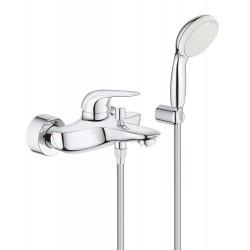 Смеситель для ванны с душевым гарнитуром Grohe Eurostyle 2372930A