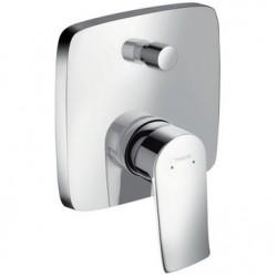 Смеситель для ванны встраиваемый без излива Hansgrohe Metris 31454000