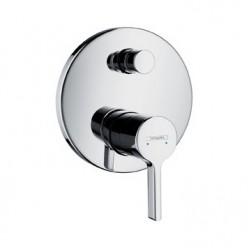 Смеситель для ванны встраиваемый без излива Hansgrohe Metris S 31465000