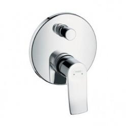 Смеситель для ванны встраиваемый без излива Hansgrohe Metris 31493000