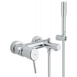 Смеситель для ванны с душевым гарнитуром Grohe Concetto 32212001