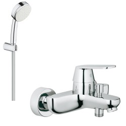 Смеситель для ванны с душевым гарнитуром Grohe Eurosmart Cosmopolitan 3283126084