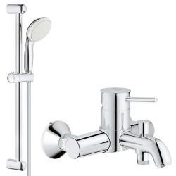 Смеситель для ванны с душевым гарнитуром Grohe BauClassic 3286527924