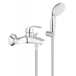 Смеситель для ванны с душевым гарнитуром Grohe Eurosmart 3330220A
