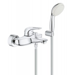 Смеситель для ванны с душевым гарнитуром Grohe Eurostyle New 3359230A