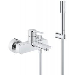Смеситель для ванны с душевым гарнитуром Grohe Lineare 33850001