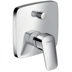 Смеситель для ванны встраиваемый без излива Hansgrohe Logis 71405000