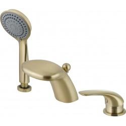 Смеситель для ванны на бортик Adiante Cobra AD-90001BR