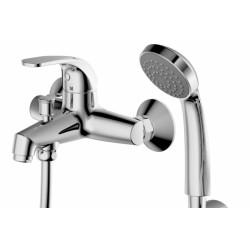 Смеситель для ванны с душевым гарнитуром Bravat Fit F6135188CP-B-RUS