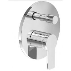 Смеситель для ванны встраиваемый без излива Villeroy&boch Architectura TVS10335300061