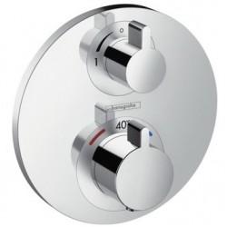 Термостат для душа встраиваемый без подключения шланга Hansgrohe Ecostat S 15757000