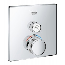 Термостат для душа встраиваемый без подключения шланга Grohe Grohtherm SmartControl 29123000