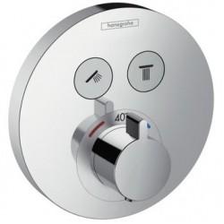 Термостат для ванны встраиваемый без излива Hansgrohe Showerselect 15743000