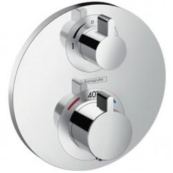 Термостат для ванны встраиваемый без излива Hansgrohe Ecostat S 15758000