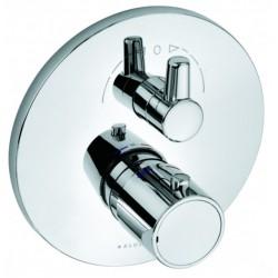 Термостат для ванны встраиваемый без излива Kludi Zenta 388300545