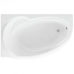Ванна акриловая асимметричная левосторонняя Aquatek Бетта 150х95