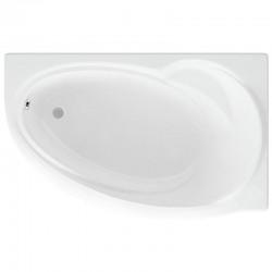 Ванна акриловая асимметричная правосторонняя Aquatek Бетта 150х95