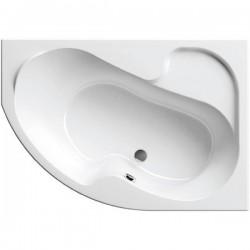 Ванна акриловая асимметричная правосторонняя Ravak Rosa I CL01000000 160х105